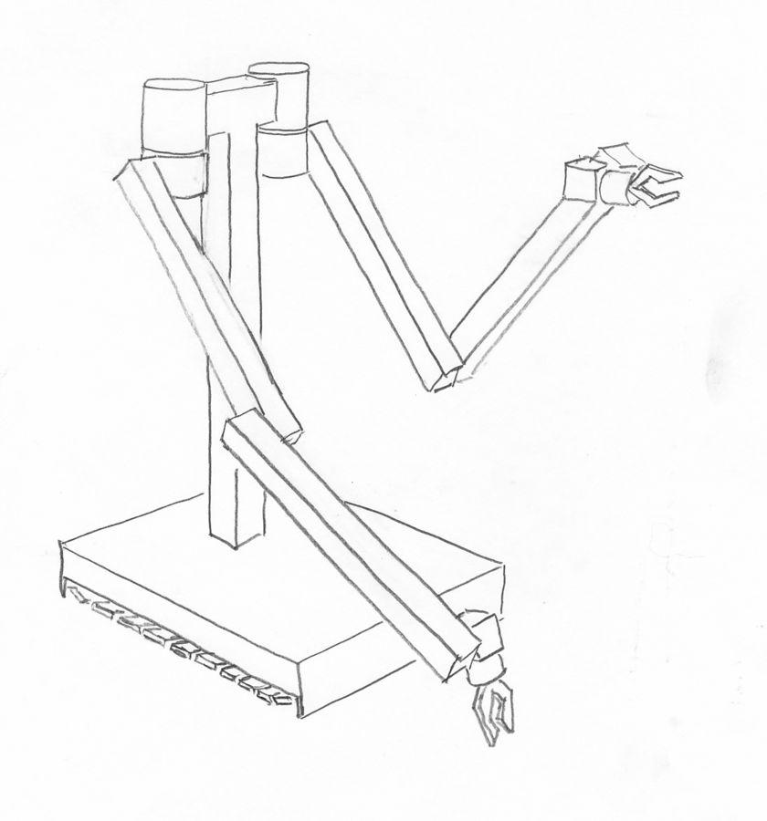 Sketch of the teleoperator