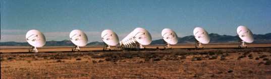 The VLA after searching for the Wow! signal