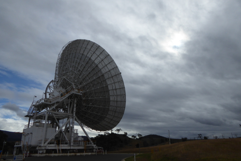 DSS45 listening for MESSENGER