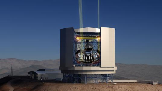 Giant Magellan Telescope artist's concept