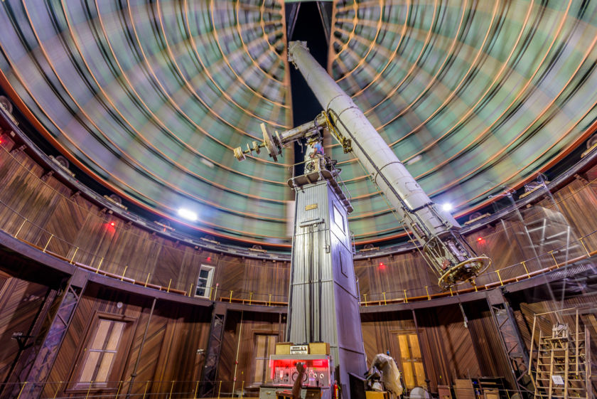 The Lick Observatory's 1888 Great Refractor Telescope