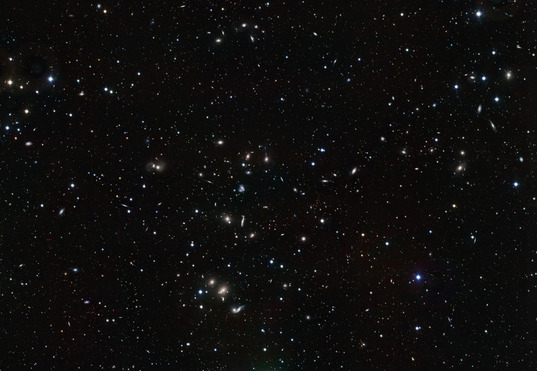 VLT Survey Telescope (VST) image of the Hercules galaxy cluster