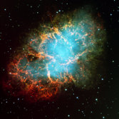 M1, the Crab Nebula, by the Very Large Telescope