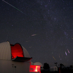Perseid meteor shower 2013