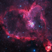 NGC 1805 - The Heart Nebula