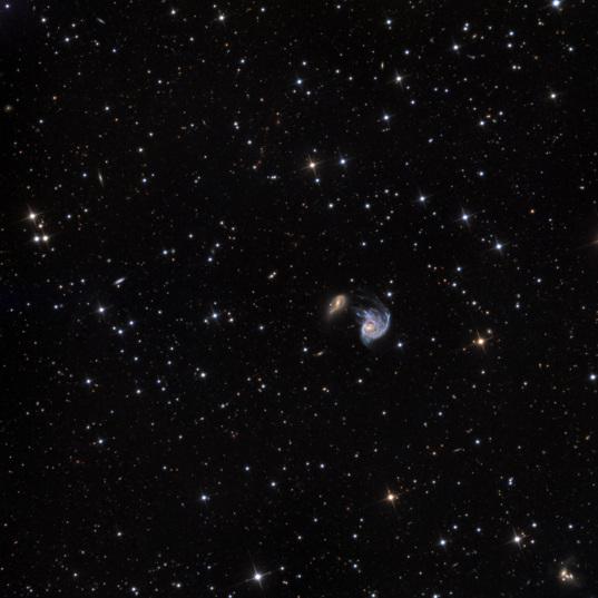 NGC 218 and PGC 2726