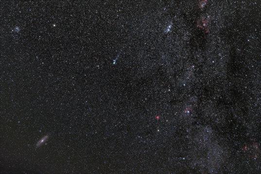 Cometary Interloper