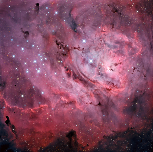 M8: The Lagoon Nebula (wide view)