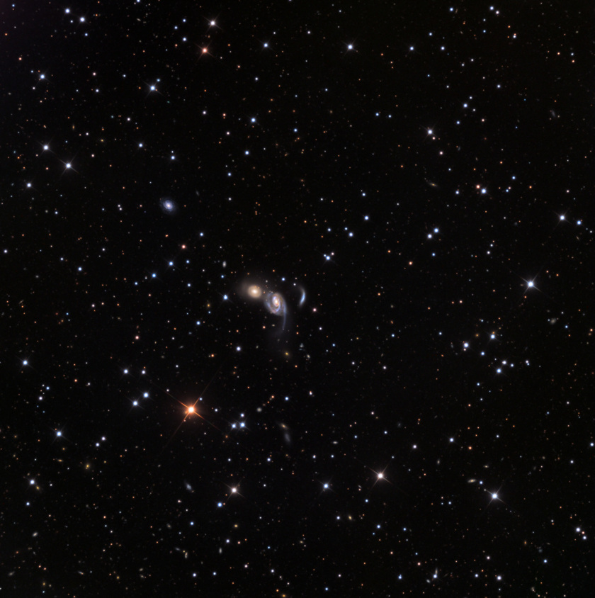 A Trio of Galaxies: NGC 7806