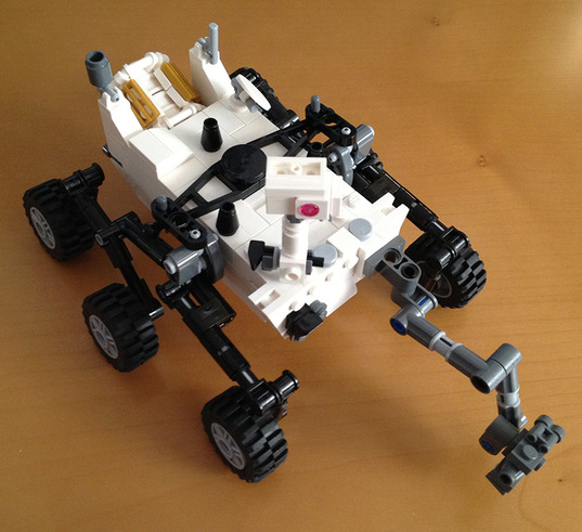 An Amazing Lego Model Of Curiosity The Planetary Society