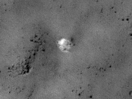 Mars-3 parachute?