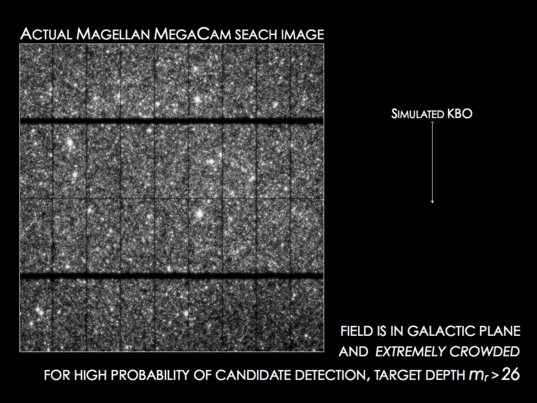 Actual Magellan MegaCam Search Image