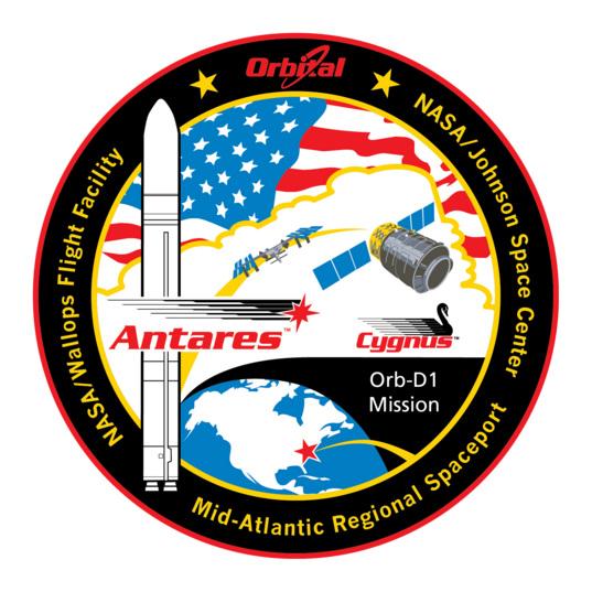 ORB-D1 Mission Patch