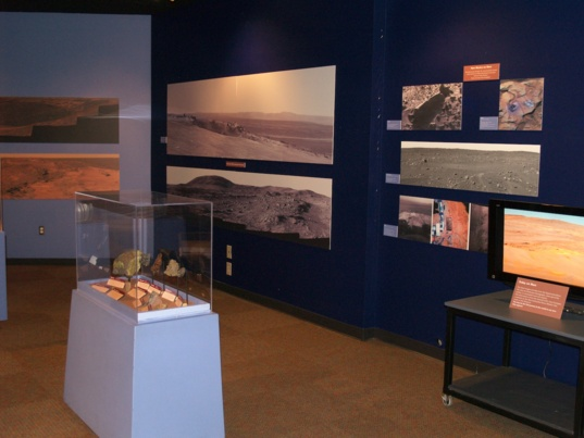MER 10th anniversary exhibit