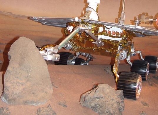 MER rover replica