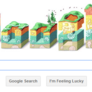 Google Doodle for Steno's 374th birthday