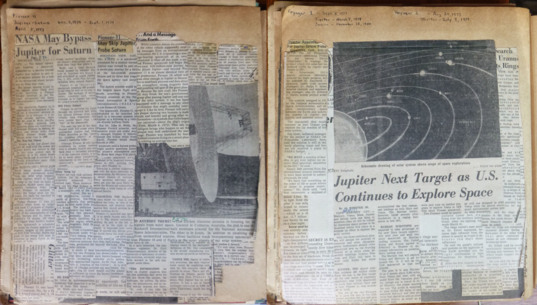 Pages from my Planetary Scrapbook, 1971–1980
