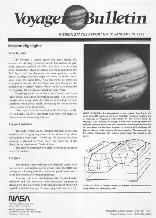 Voyager Bulletin