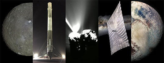 Space highlights of 2015