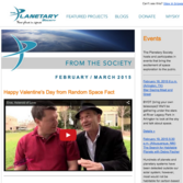 From The Society Newsletter Thumbnail