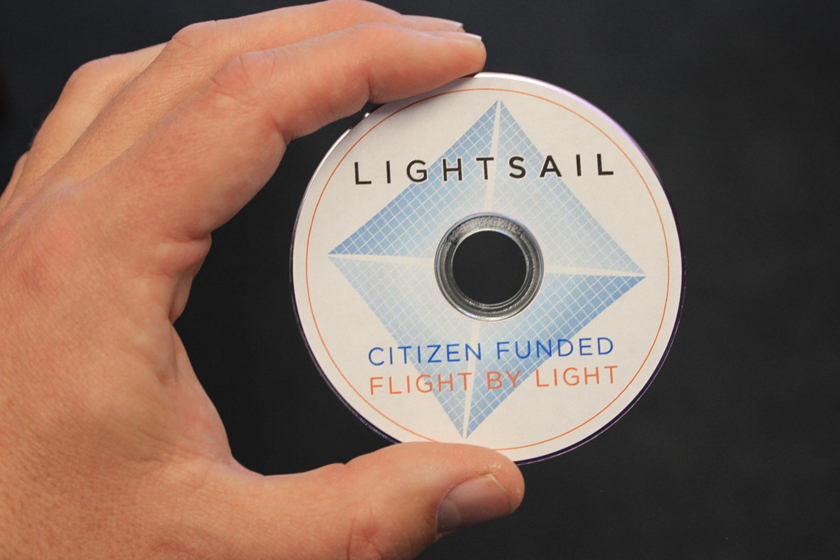 LightSail 2 mini-DVD