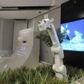 Robot giraffe