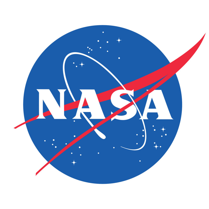 NASA meatball logo centered