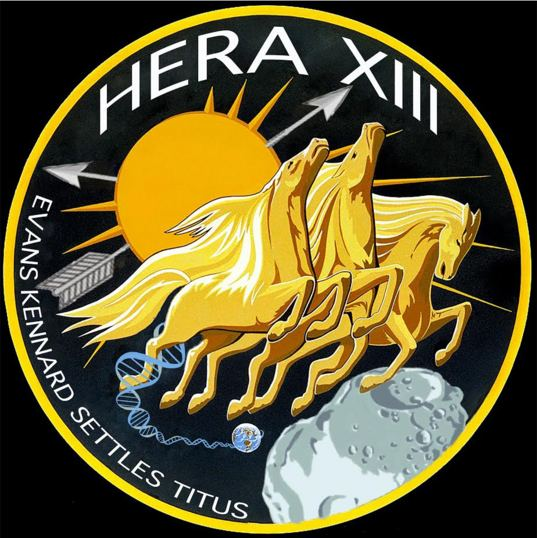 HERA XIII mission patch