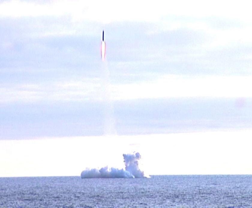 Volna rocket launch