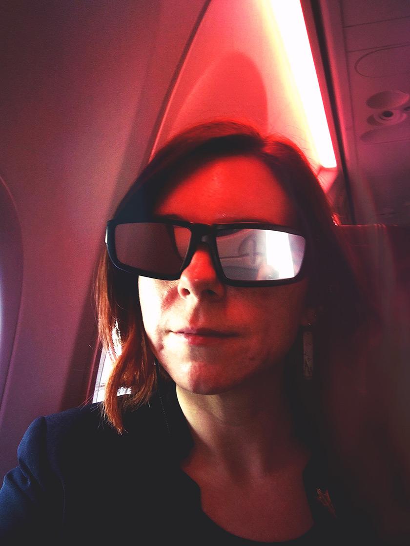 Eclipse selfie