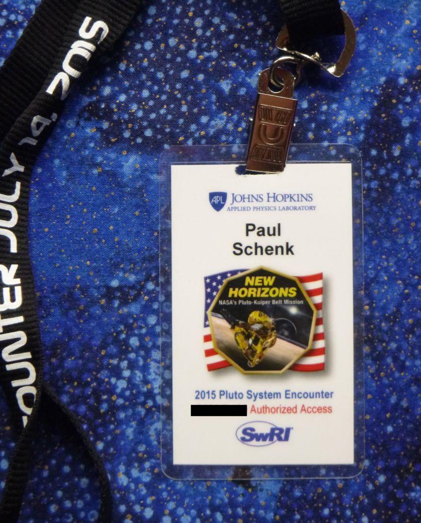 New Horizons badge
