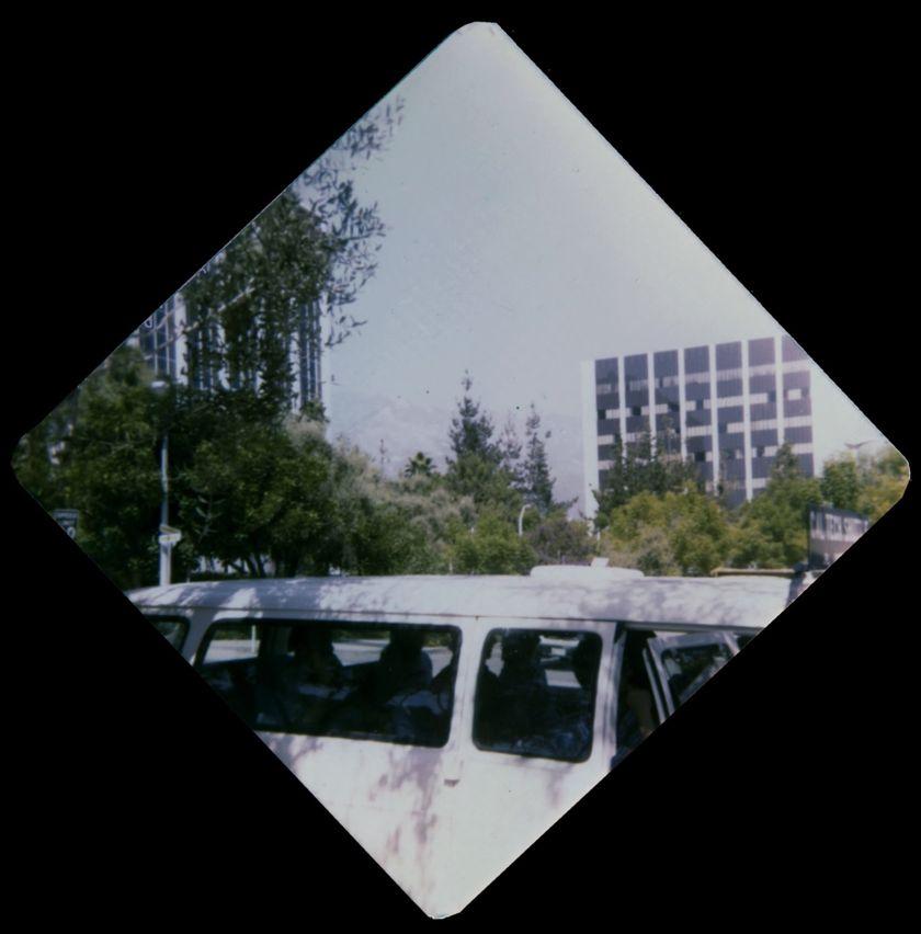 The daily 9-passenger shuttle van from Caltech to JPL