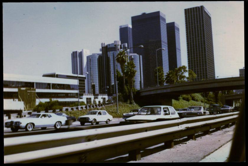 LA skyline in 1979