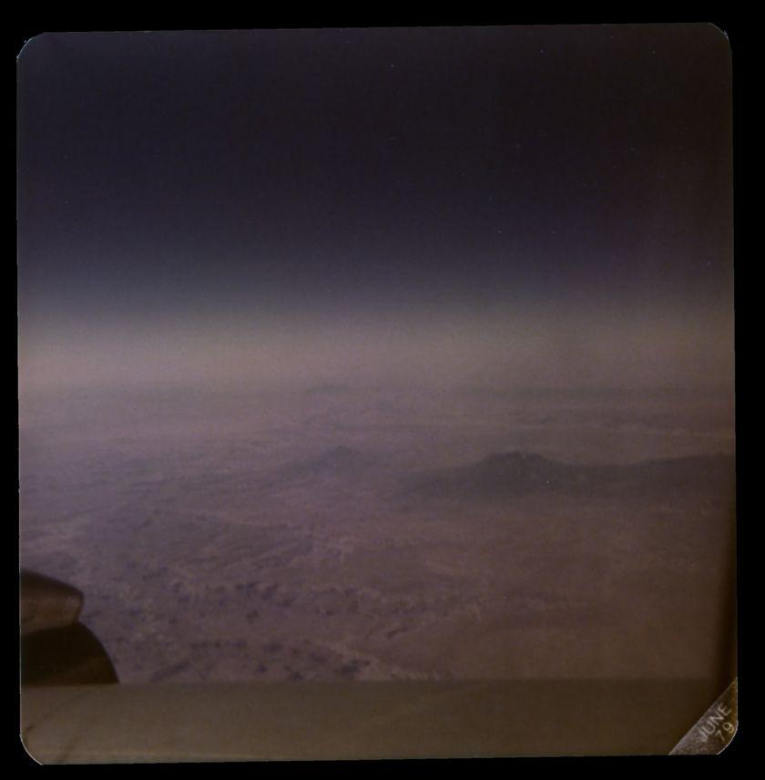Flight over Utah