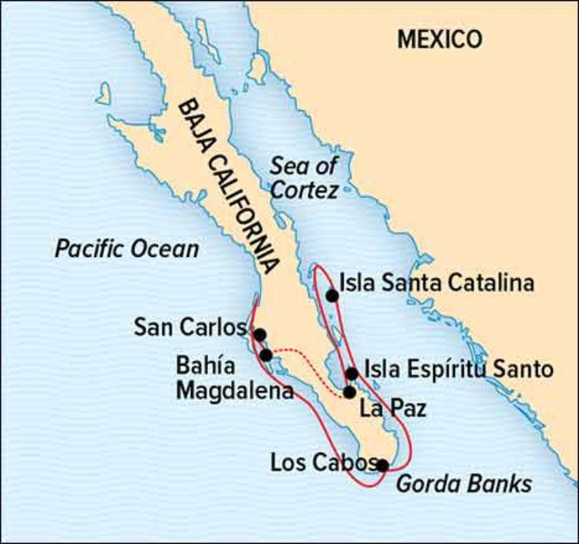 Baja 2018 Map