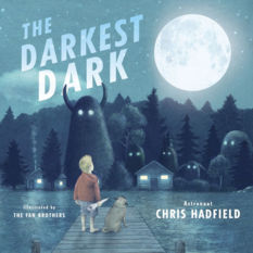 The Darkest Dark, by Chris Hadfield, illustrated by the Fan brothers