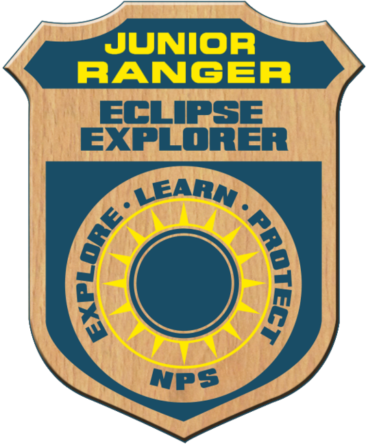 Junior Ranger Eclipse Explorer badge