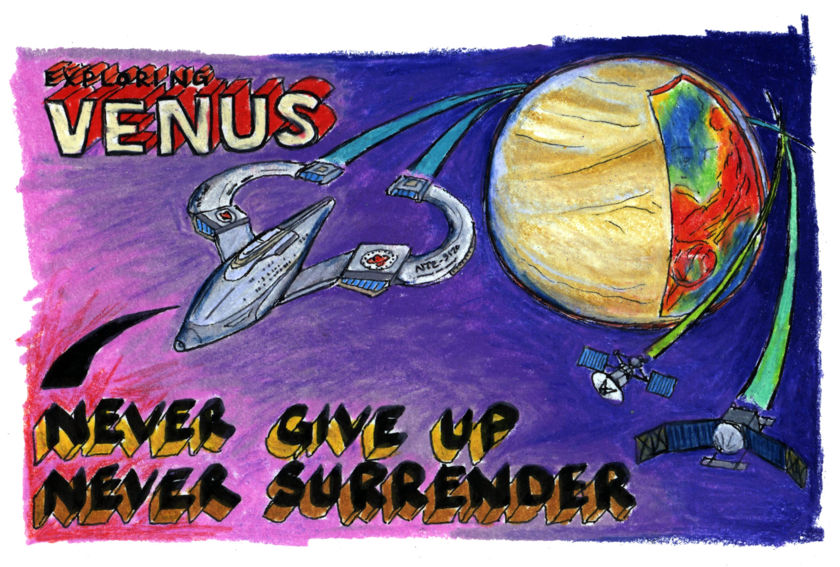 Exploring Venus: Never give up, never surrender!