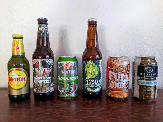 Funpost! space beer challenge