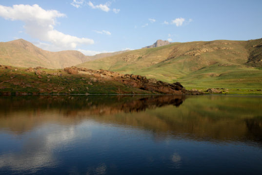 Oukaïmeden Lake