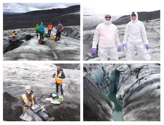Glacier scenes