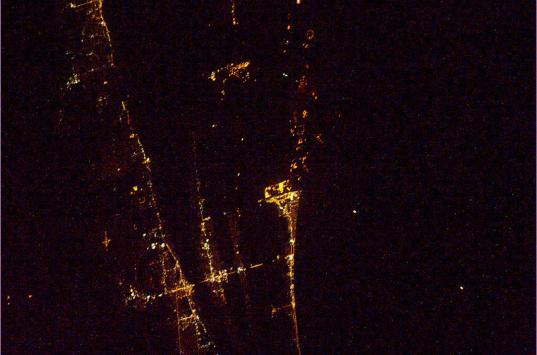 Cape Canaveral from the ISS
