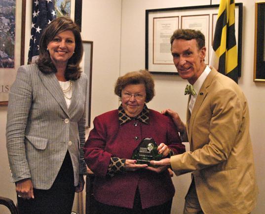 The Alliance for Earth Observation Leadership Award