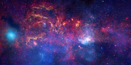 Sagittarius A: the center of the Milky Way