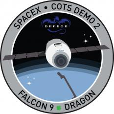 SpaceX COTS2 mission patch