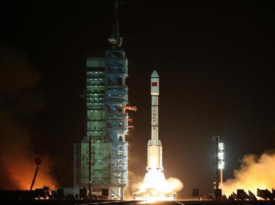 Tiangong-1, China's first space station, lifts off /></t:if><t:else><img src=