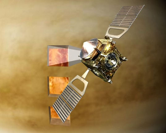 "Venus Express peers through ""infrared windows"""