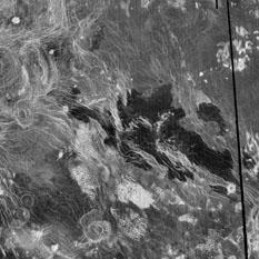 Bereghinia Planitia, Venus