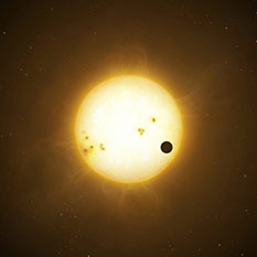 Extrasolar Planet Illustration