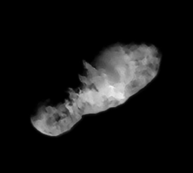 Comet 19P/Borrelly, target of Deep Space 1